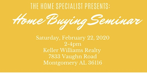 The Home Specialist Home Buying Seminar