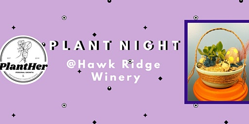 Create Your Own Spring Basket Planter: PlantHer Plant Night @ Hawk Ridge!