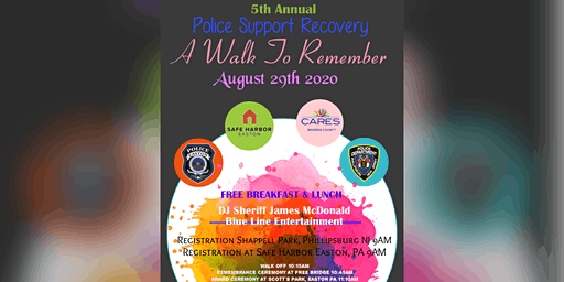 Police Support Recovery - A Walk to Remember