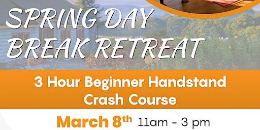 Spring Day Break Handstand Retreat
