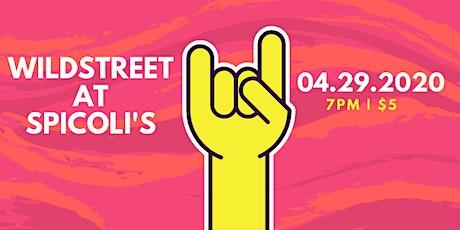 Wildstreet at Spicoli's! tickets