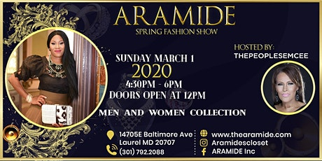 ARAMIDE Fashion Show tickets