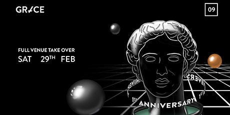 Grace Queer Rave  #09  - First Birthday  Full Venue Takeover tickets