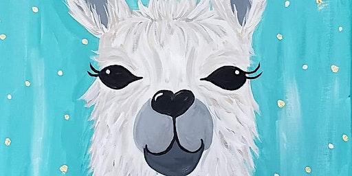 La-La Llama Paint Night at Romers