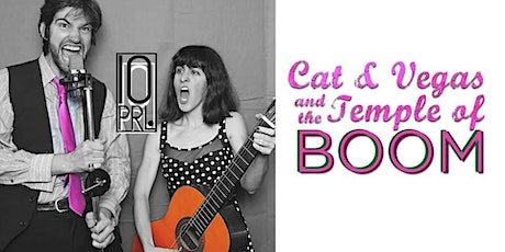 Cat and Vegas and the Temple of Boom! Musical Improv tickets