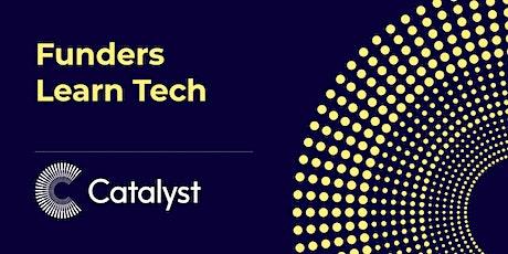 Funders Learn Tech tickets