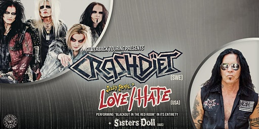 CRASHDIET - Sisters Doll support discount ticket