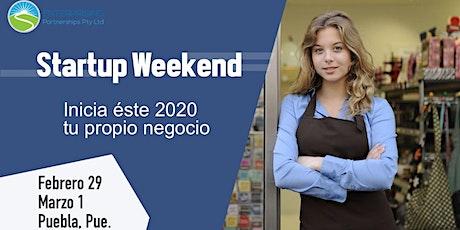 Startup Weekend Puebla 2020 boletos