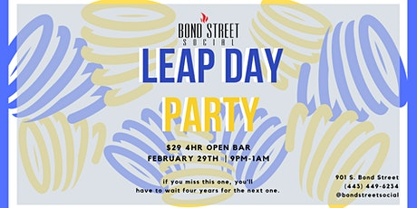 Leap Day At Bond Street Social tickets
