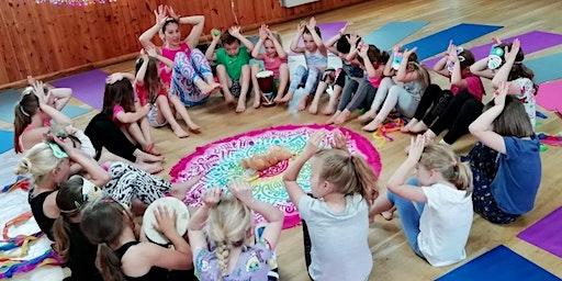 Half Term Kids Yoga Workshop in Martlesham - Mythical Creatures Yoga!