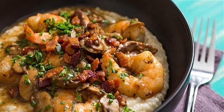 Shrimp and Grits Cooking Class (ONLINE COOKING CLASS) tickets
