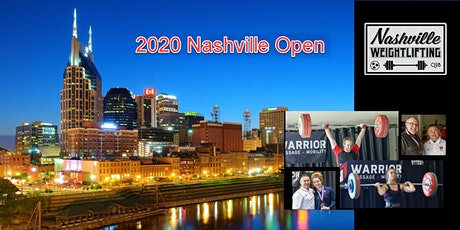 2020 Nashville Open Olympic Weightlifting Competition tickets