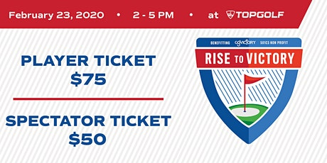 2020 Rise to Victory Fundraiser tickets