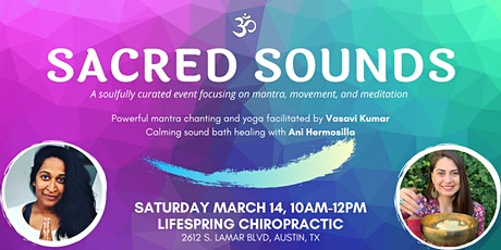 Sacred Sounds: Mantra, Movement and Meditation tickets