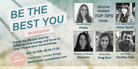 BE THE BEST YOU - WELLNESS WORKSHOP & 4 WEEKS ONLINE PROGRAMME tickets