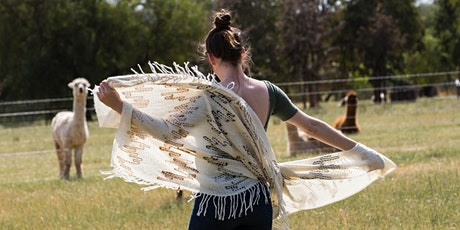 Textile Weaving Workshop - Alpaca Shawls & Scarves tickets