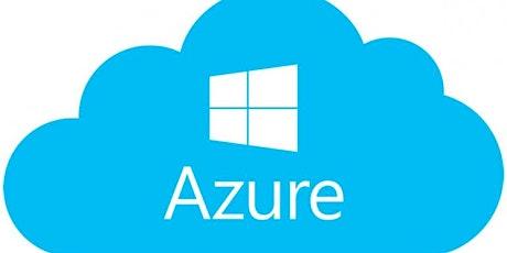 5 Weekends Microsoft Azure training for Beginners in Calgary | Microsoft Azure Fundamentals | Azure cloud computing training | Microsoft Azure Fundamentals AZ-900 Certification Exam Prep (Preparation) Training Course tickets