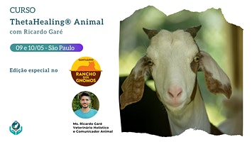 Formação Oficial ThetaHealing Animal no Santuário Rancho dos Gnomos - 09 e 10 de maio