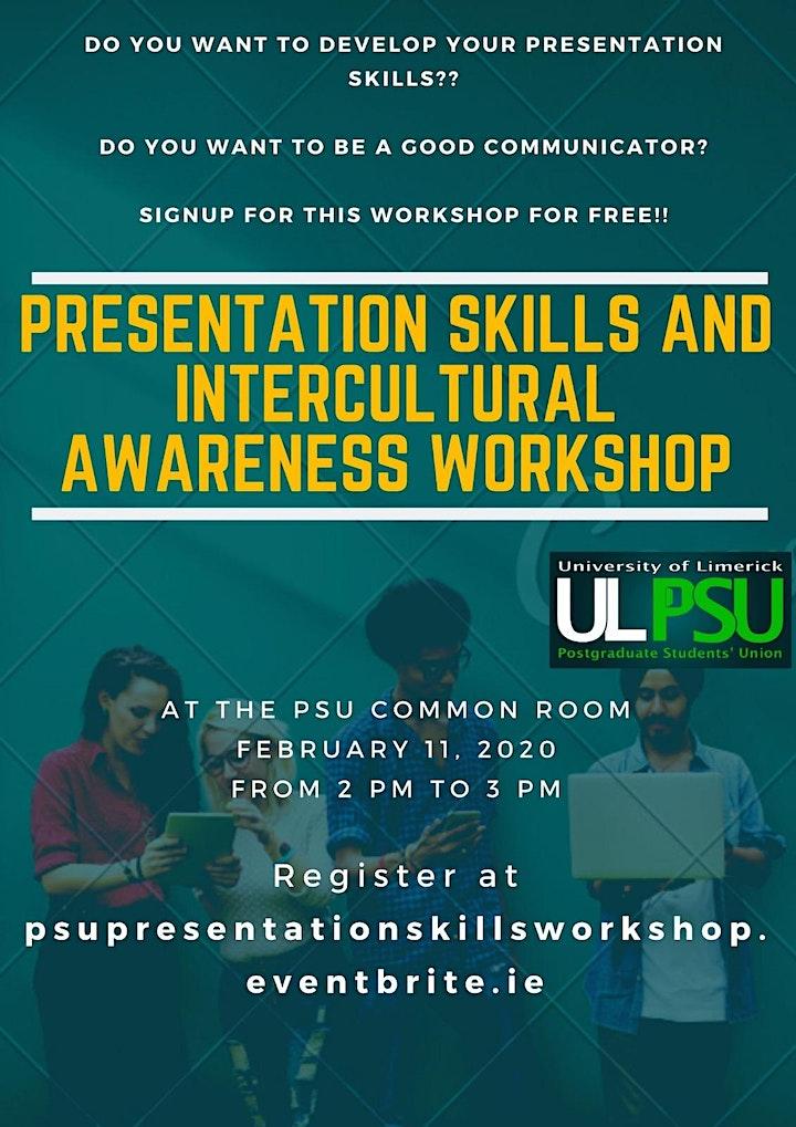 Presentation Skills & Intercultural Awareness Workshop image