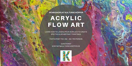Acrylic Flow Art Painting Workshop tickets