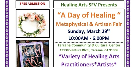 A Day of Healing Metaphysical & Artisan Spring Fair tickets
