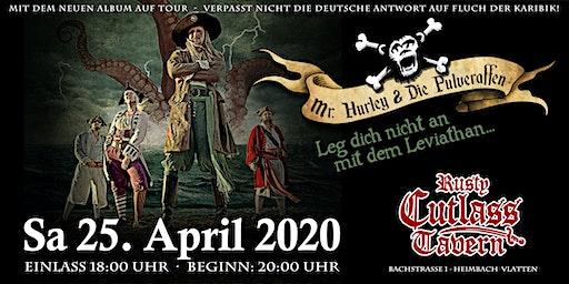 Mr. Hurley und die Pulveraffen Konzert 2020