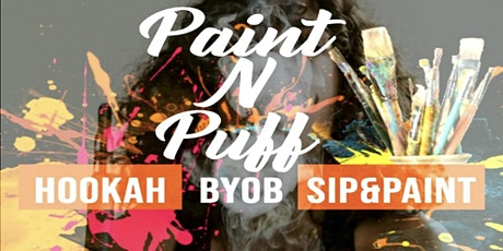 Paint N Puff: A Trap Paint Party tickets