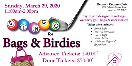 Bingo for Bags & Birdies tickets