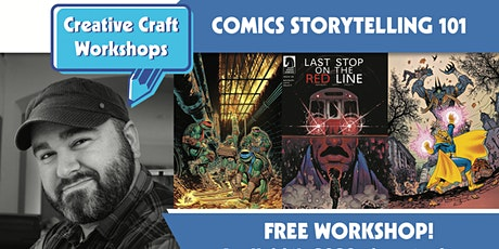 Creative Craft Workshops Presents: Comics Storytelling 101 with Sam Lotfi tickets
