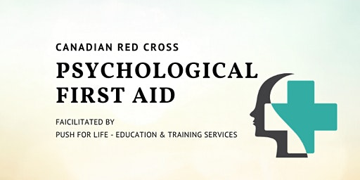 Psychological First Aid Training - Canadian Red Cross