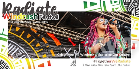 Radiate Windrush Festival 2020 tickets