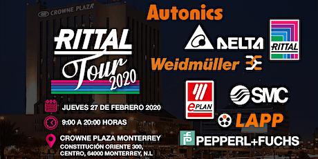 Rittal Tour 2020 en Monterrey entradas