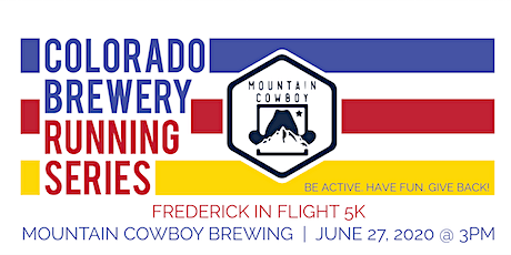 Frederick in Flight 5k - Mountain Cowboy | Colorado Brewery Running Series tickets