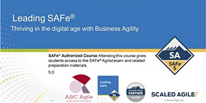 Leading SAFe 5.0 with SA Certification Belgrade ( in...