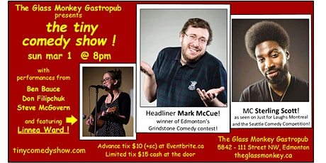the tiny comedy show at The Glass Monkey! tickets