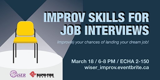 Improv Skills for Job Interviews