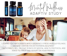 Mental Wellness Adaptiv Study tickets