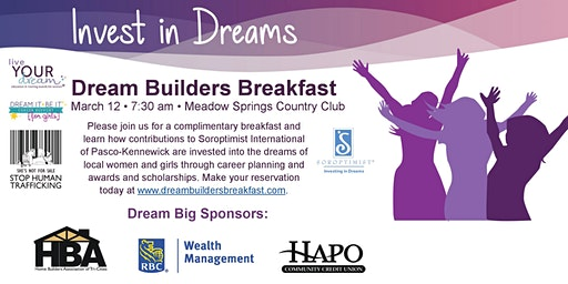 Dream Builders Breakfast