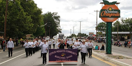 "57th Orangevale Town Fair Parade ""Home Town Roots"""