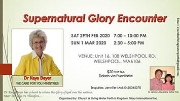 SUPERNATURAL GLORY ENCOUNTER