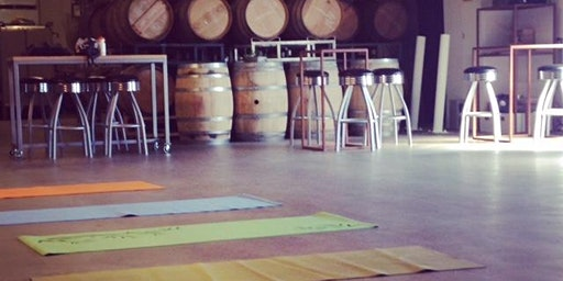 Yoga and Wine at Cinder Wines