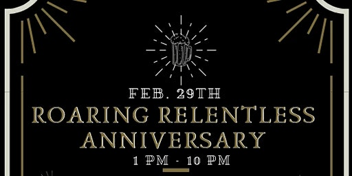 Relentless Brewing 4 Year Anniversary