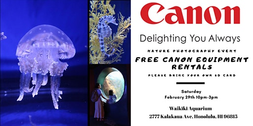 Canon Nature Photography Event