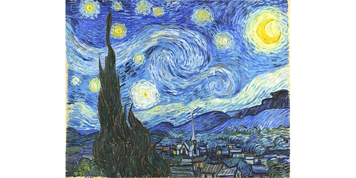 Van Gogh's Starry Night (Orange)