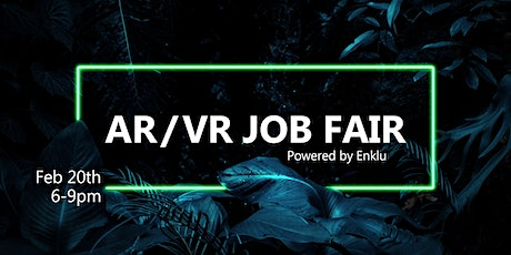 AR / VR Job Fair tickets