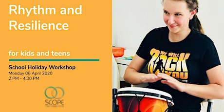 Rhythm and Resilience Workshop for Kids and Teens tickets