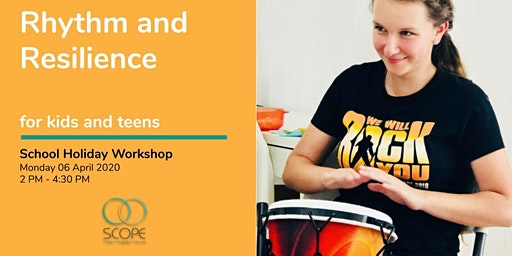 Rhythm and Resilience Workshop for Kids and Teens