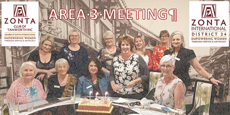 Zonta Area 3 Meeting 2020 District 24 Tamworth tickets