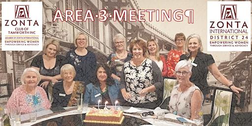 Zonta Area 3 Meeting 2020 District 24 Tamworth