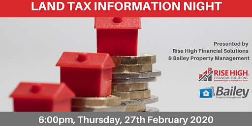 Land Tax Information Night